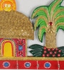 Multicolour Papier Mache Cottage Key Holder by eCraftIndia