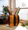 Multicolour Papier Mache Splendid Pen Stand by eCraftIndia
