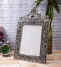 Silver Metal 8.5 x 0.5 x 13 Inch Antique Finish Classy Photo Frame by eCraftIndia