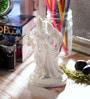 White Synthetic Fibre Krishna Radha Statue by eCraftIndia