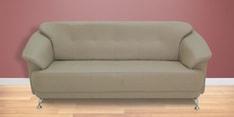 Edo Three Seater Sofa in Buff Colour