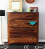 Edmonds Chest of Four Drawers in Provincial Teak Finish by Woodsworth