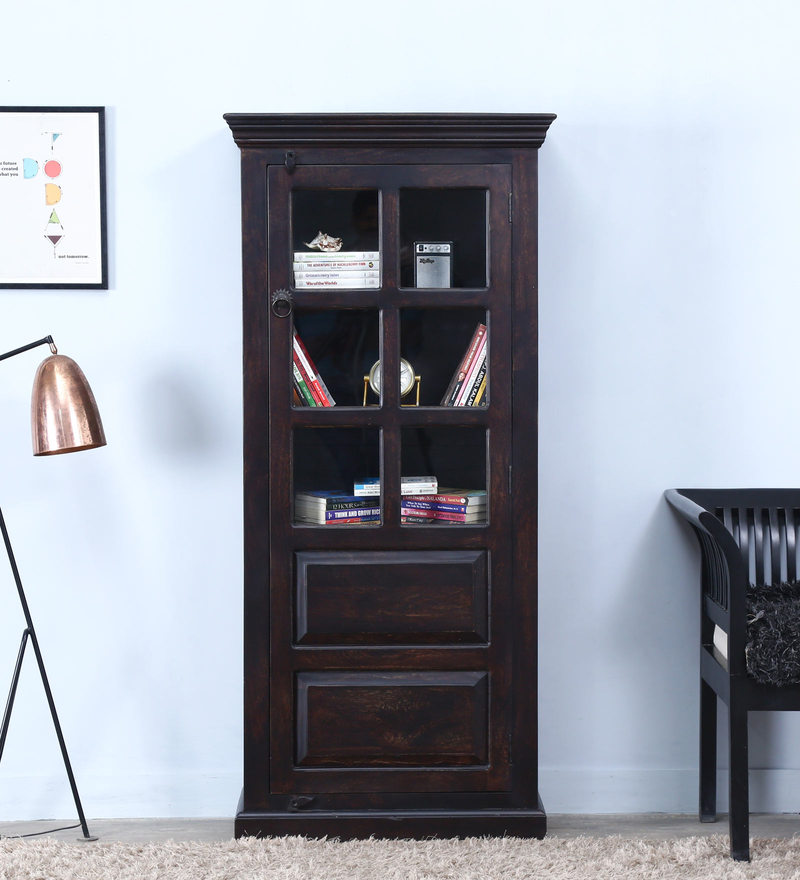 Egbert Classic Book Case in Warm Chestnut Finish by Amberville