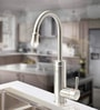 Egon Silver Stainless Steel Instant Hot Water Heater Top Mount Tap