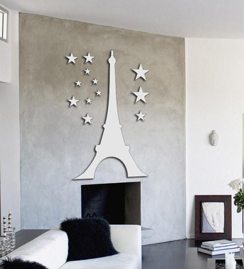 Planet Decor Eiffel Tower At Night
