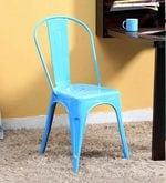 Ekati Metal Chair in Blue Color