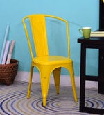 Ekati Metal Chair in Yellow Color