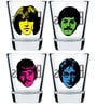 Ek Do Dhai The Beatles Shot Glasses - Set of 4