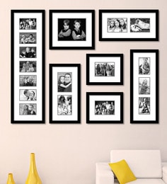 edb465a68f0 Black Synthetic 52 x 1 x 40 Inch Group 7-B Wall Collage Photo Frame by  Elegant Arts and Frames