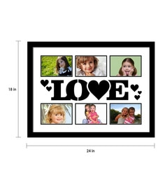 643f7d15adb2 ... Elegant Arts and Frames Black Synthetic 18 x 24 Inch Collage Photo Frame