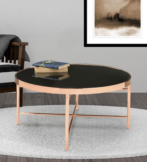 Glass Table Coffee Table.Elba Black Glass Top Coffee Table With Mettalic Frame By Durian