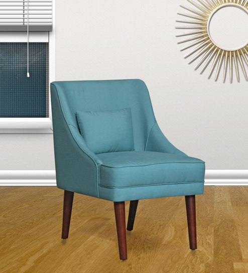 Enjoyable Eleanor Accent Chair In Blue Colour By Peachtree Gamerscity Chair Design For Home Gamerscityorg