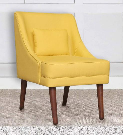 Outstanding Eleanor Slipper Chair In Yellow Colour By Peachtree Gamerscity Chair Design For Home Gamerscityorg