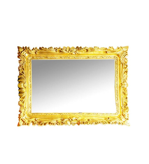 Buy Elegant Arts And Frames Antique Gold Glass Dressing Mirror