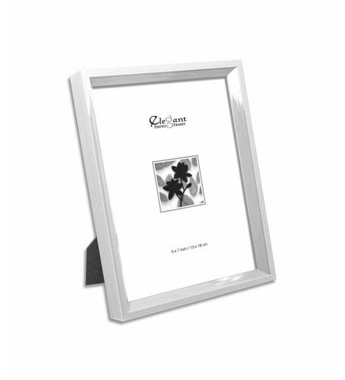 Buy Elegant Arts Frames White Plastic Photo Frame 7 X 5