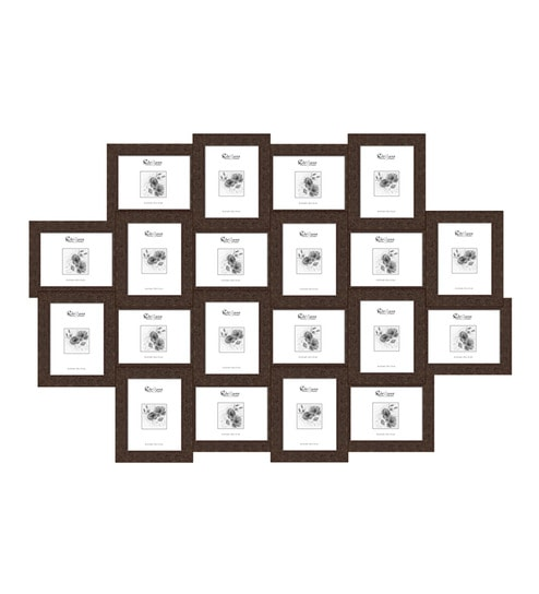 Buy Elegant Arts and Frames Brown Synthetic 34 x 50 Inch Collage ...