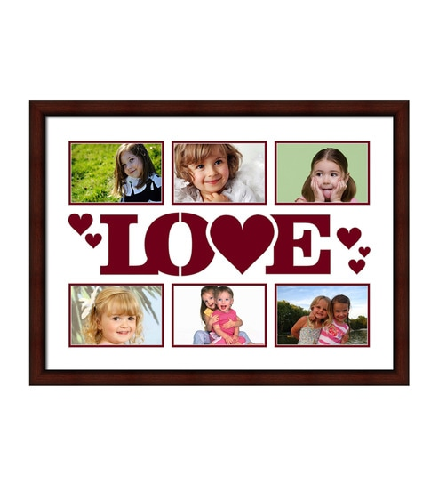 Brown Synthetic 18 x 24 Inch Collage Photo Frame by Elegant Arts and Frames