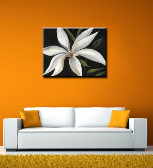 Buy Elegant Arts And Frames Canvas 32 X 24 Inch Floral Framed Art