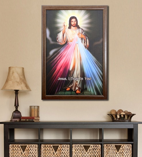 buy elegant arts and frames canvas 27 5 x 37 5 inch divine mercy