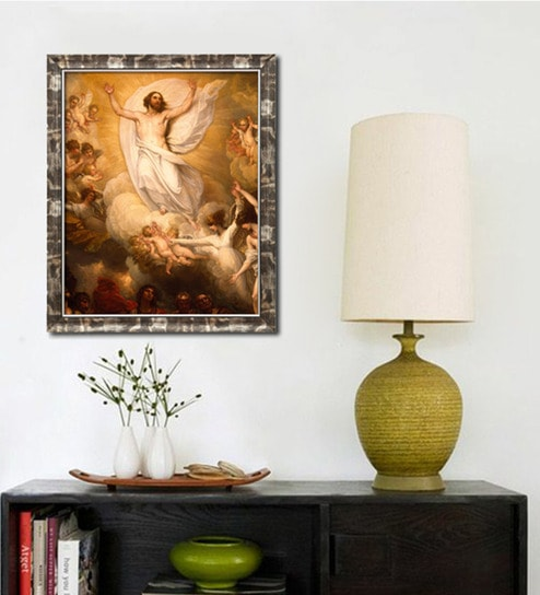 Buy Elegant Arts and Frames Canvas 18.5 x 22.5 Inch Jesus ...