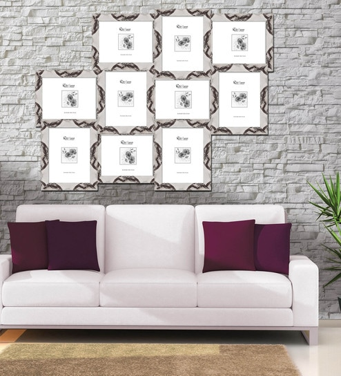 Buy Elegant Arts And Frames Marble White Synthetic Wood 34 x 1 x 26 ...