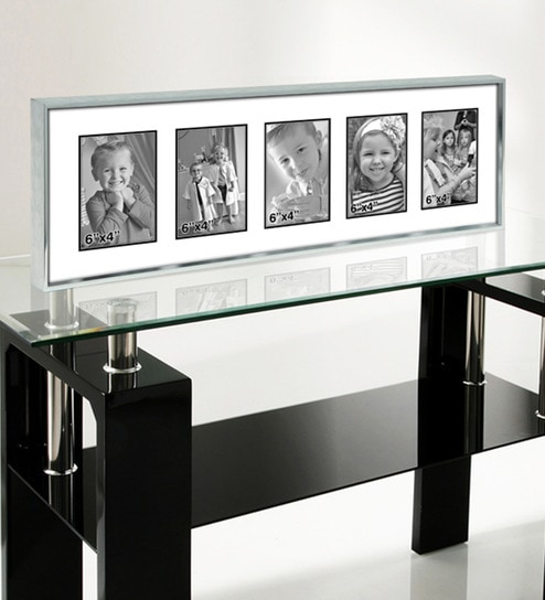 Buy Silver Metal 10 x 28 Inch Collage Photo Frame by Elegant Arts ...
