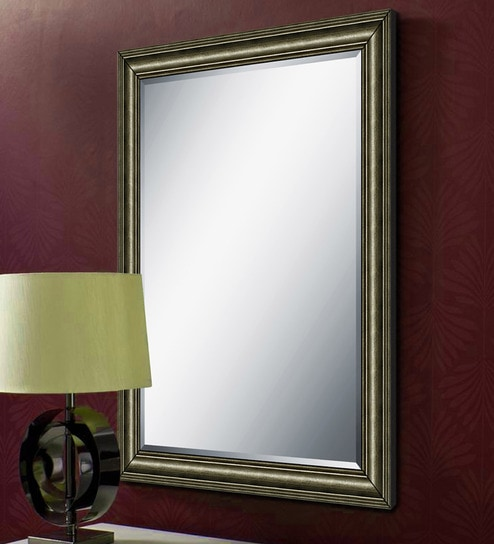 Buy Zina Rectangular Wall Mirror by Elegant Arts and Frames Online ...