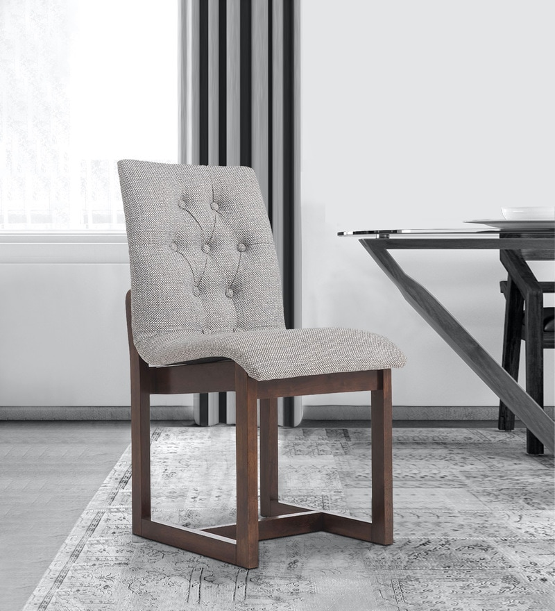 Buy Elida Dining Chair In Cream Finish By Durian Online Uphlostered Side Dining Chairs Dining Furniture Pepperfry Product