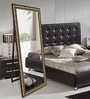 Brown Wooden Decorative Synthetic Full Length Dressing Mirror by Elegant Arts & Frames