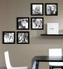 Black Synthetic 35 x 1 x 26 Inch Group 6-D Wall Collage Photo Frame by Elegant Arts and Frames