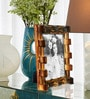 Brown Bamboo Single Photo Frame by Elegant Arts and Frames