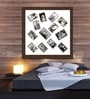 Elegant Arts and Frames Brown Synthetic 34 x 34 Inch Collage Photo Frame