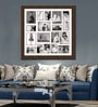Brown Synthetic 34 x 34 Inch Collage Photo Frame by Elegant Arts & Frames
