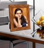 Brown Wood Single Photo Frame by Elegant Arts and Frames