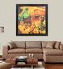 Elegant Arts and Frames Paper 22.5 x 22.5 Inch Free Jazz Framed Art Print
