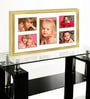 Elegant Arts and Frames Gold Metal 14 x 25 Inch Collage Photo Frame