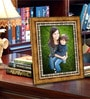 Gold Synthetic Wood Single Photo Frame by Elegant Arts and Frames