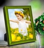 Elegant Arts And Frames Green Metal 6 x 1 x 8 Inch Tabletop Photo Frame