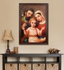 Elegant Arts and Frames Canvas 27.5 x 37.5 Inch Holy Family Framed Digital Art Print