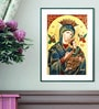 Elegant Arts and Frames Canvas 16 x 22 Inch Our Lady Framed Art Print