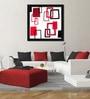 Premium Paper 32 x 1 x 32 Inch Framed Digital Art Print by Elegant Arts and Frames