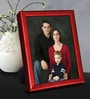 Red Metal 6 x 1 x 8 Inch Tabletop Photo Frame by Elegant Arts and Frames
