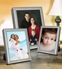 Elegant Arts And Frames Silver Metal Photo Frame - Set of 3