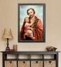 Elegant Arts and Frames Canvas 27.5 x 37.5 Inch St. Joseph Framed Digital Art Print