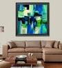 Elegant Arts and Frames Paper 38.5 x 38.5 Inch Trasparenze Framed Art Print