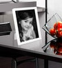White Plastic Single Photo Frame by Elegant Arts and Frames