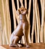 Eleganze Decor Brown Wooden Labrador Showpiece