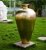 Golden Ceramic Tamara Vase by Eleganze Decor