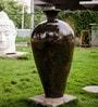 Green Ceramic Tamara Antique Vase by Eleganze Decor