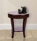 End Table in Dark Brown Colour